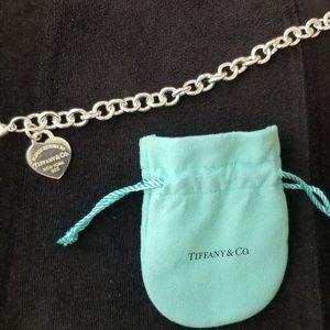 Tiffany & Co. Heart tag Silver Bracelet